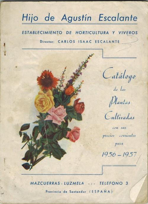 Catálogo años 50