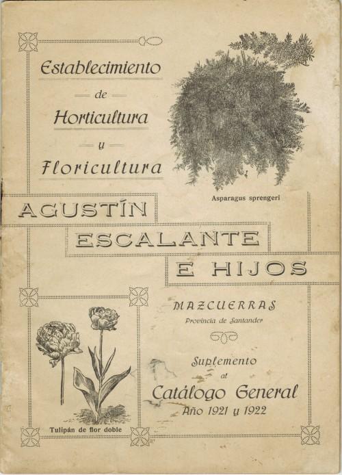 Catálogo años 20